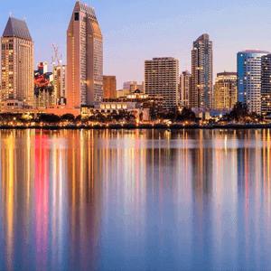 Night in San Diego
