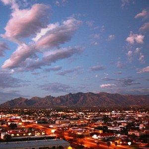 Night in Tucson Arizona