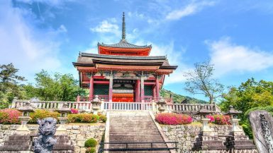 Temple Kyoto Japan