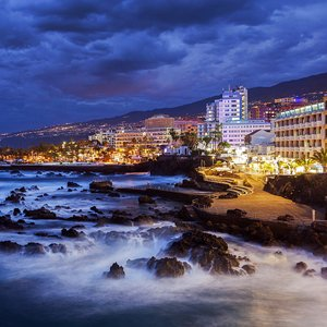 View of Puerto De La Cruz