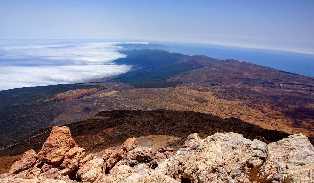 Puerto de la Cruz Teide webcam